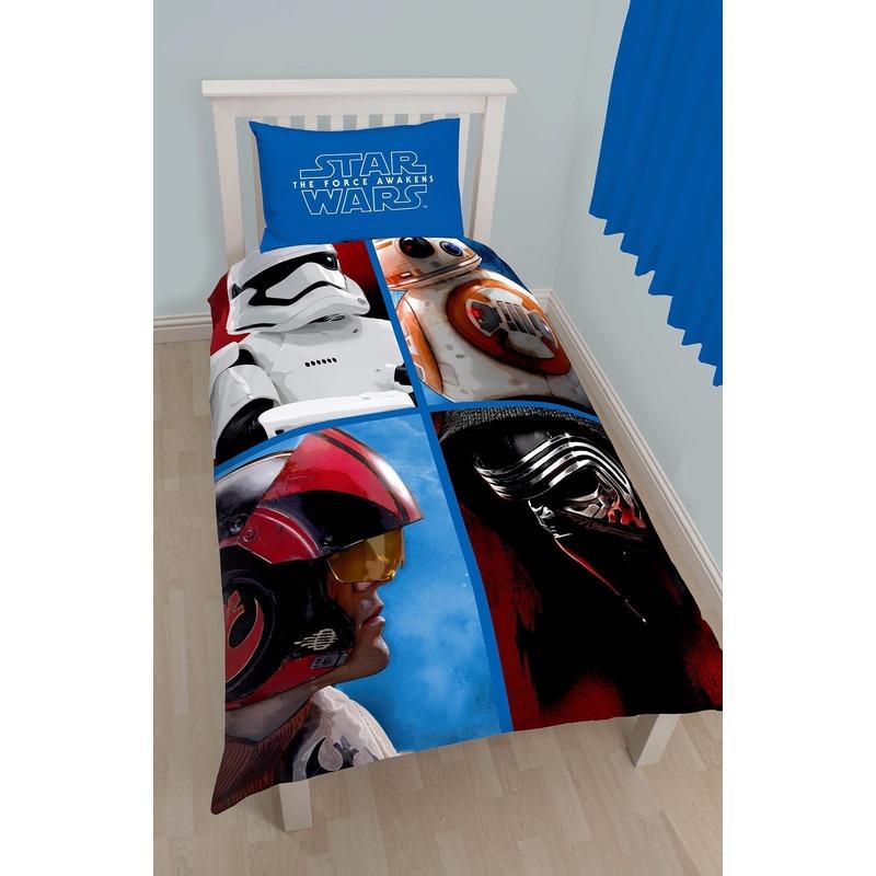 Afbeelding van 1 persoons dekbedovertrek van Star Wars