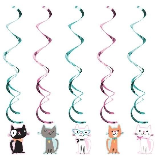 Afbeelding van 10x Katten thema rotorspiralen