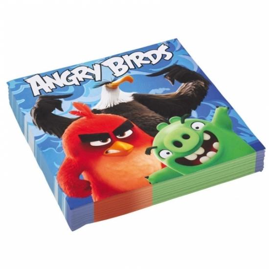 Afbeelding van Angry Birds wegwerpservetten 20 x