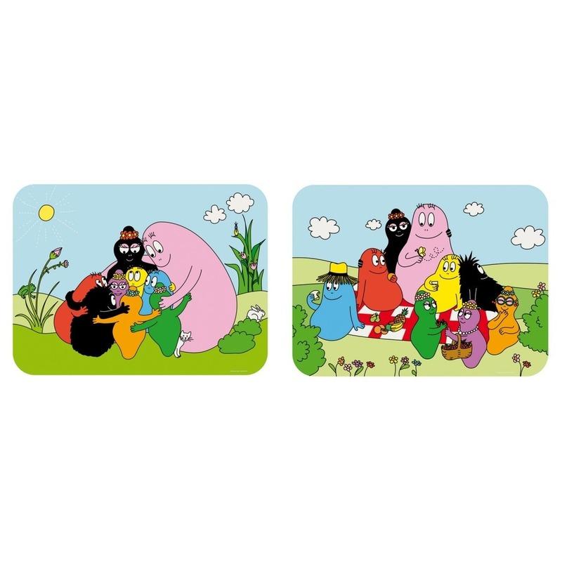 Afbeelding van Barbapapa placemats voor kinderen