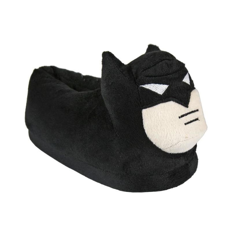 Afbeelding van Batman pantoffels zwart voor kinderen