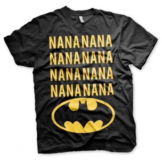 Afbeelding van Batman shirt zwart