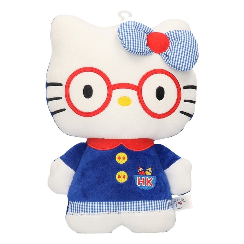 Cartoon knuffels Hello Kitty in jurk 25 cm