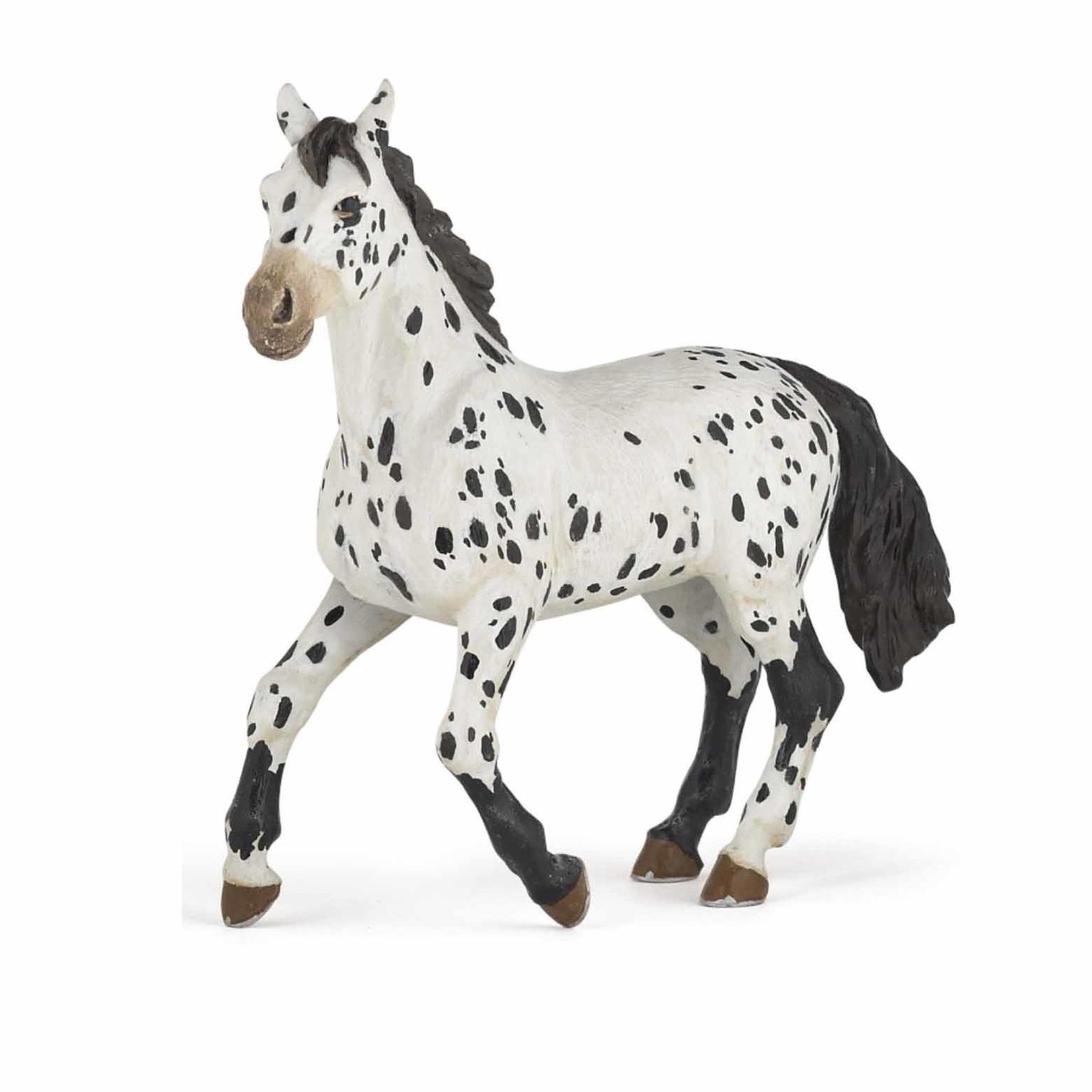 Decoratie Appaloosa paard plastic 13 cm