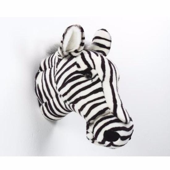 Decoratie koppen zebra