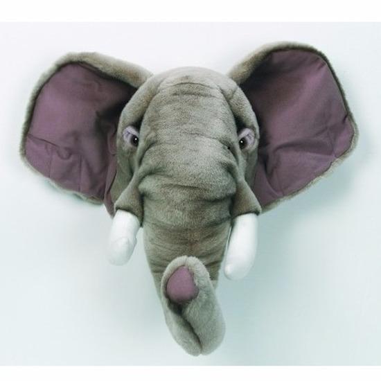 Decoratie olifanten hoofd