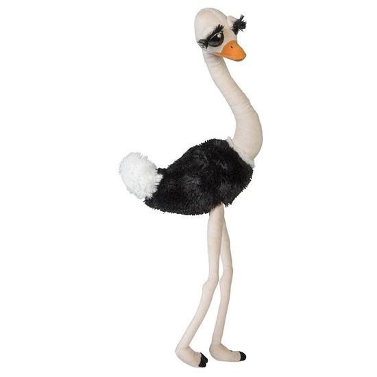 Dierenknuffel struisvogel 65 cm