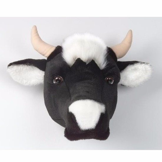 Afbeelding van Dierenkop koe voor aan de muur