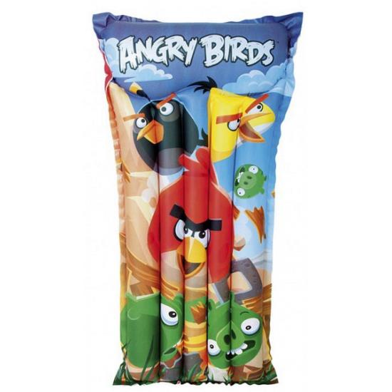 Afbeelding van Drijfbed voor in het zwembad Angry Birds