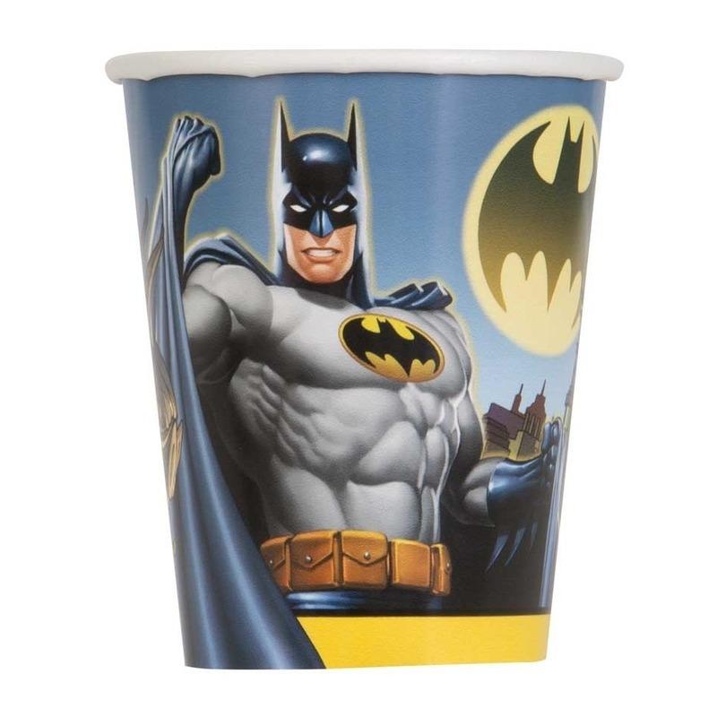 Afbeelding van Feestbekers Batman 8 stuks