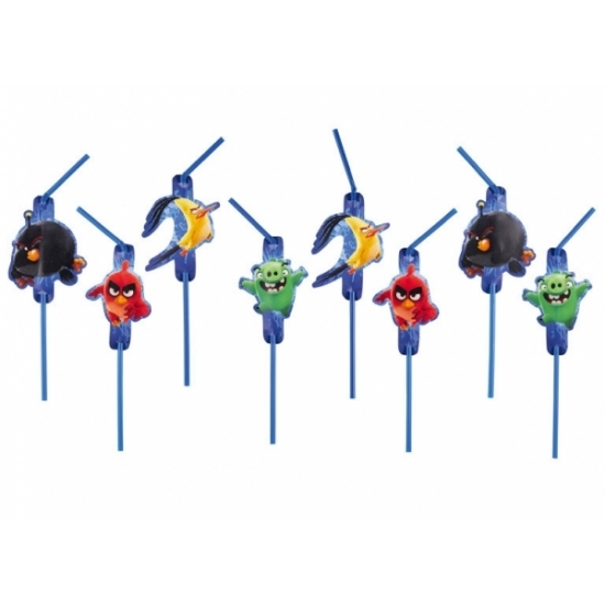 Feestrietjes van Angry Birds 8 st