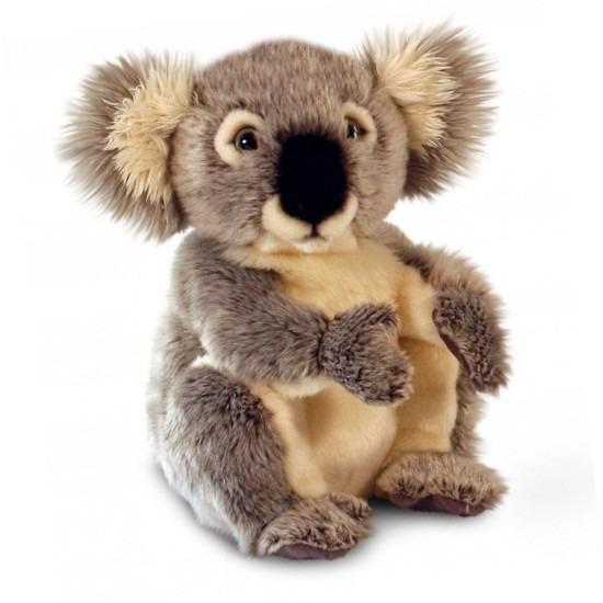 Grijze pluche Koalabeer 28 cm
