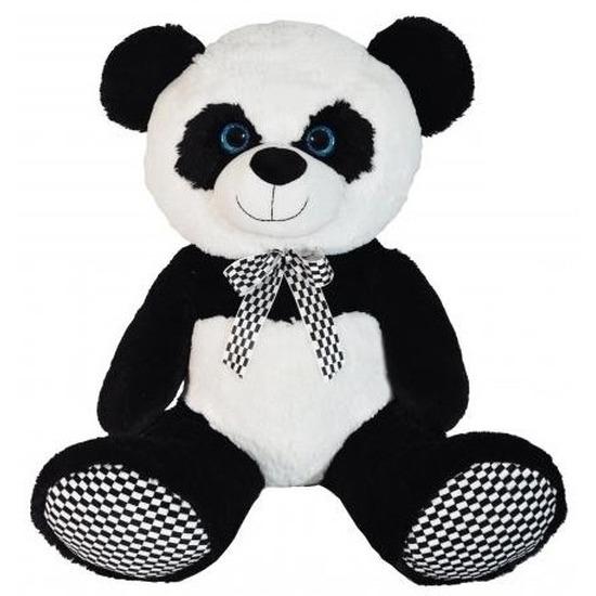 Afbeelding van Grote pluche knuffeldier panda 70 cm