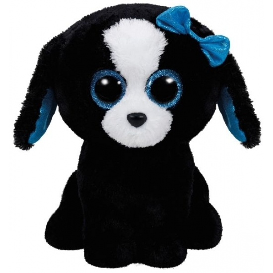 Hond-puppy knuffels Tracey Ty Beanie 24 cm