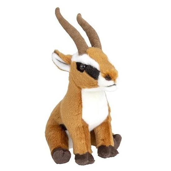 Knuffel antilope bruin 18 cm knuffels kopen