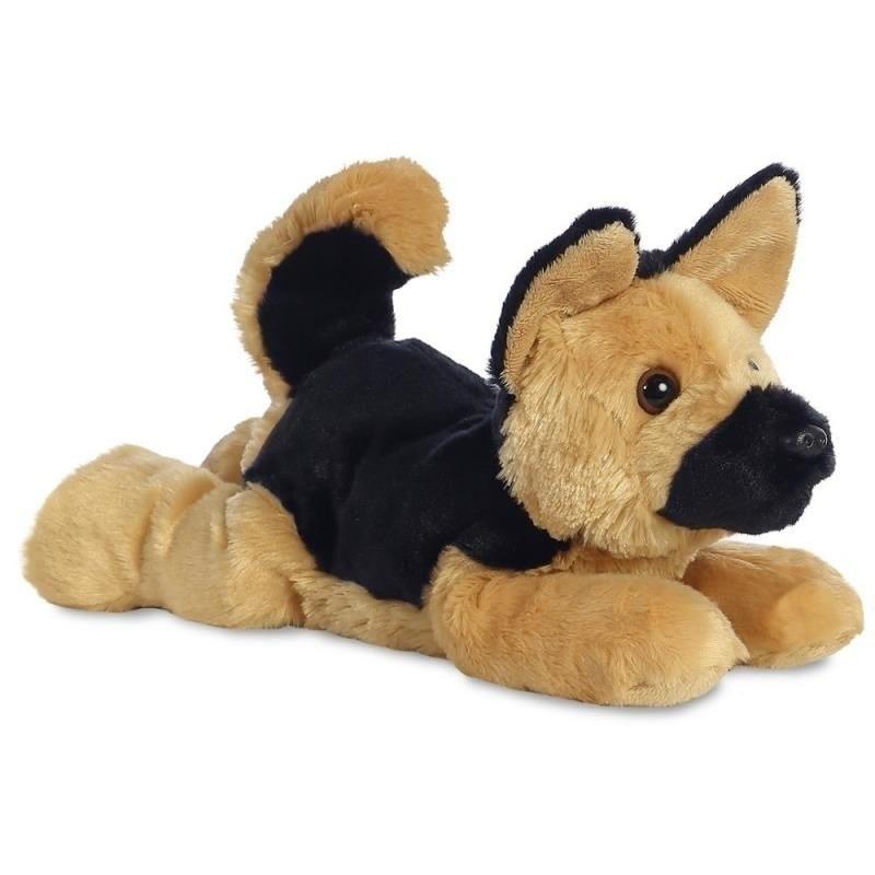 Knuffel herdershond 30 cm knuffels kopen