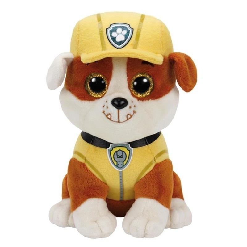 Knuffel hond Rubble 15 cm knuffels kopen