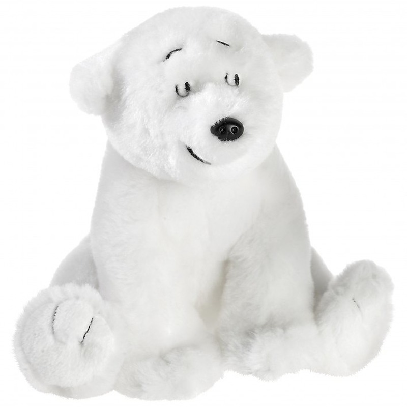 Knuffel ijsbeer Lars wit 15 cm knuffels kopen