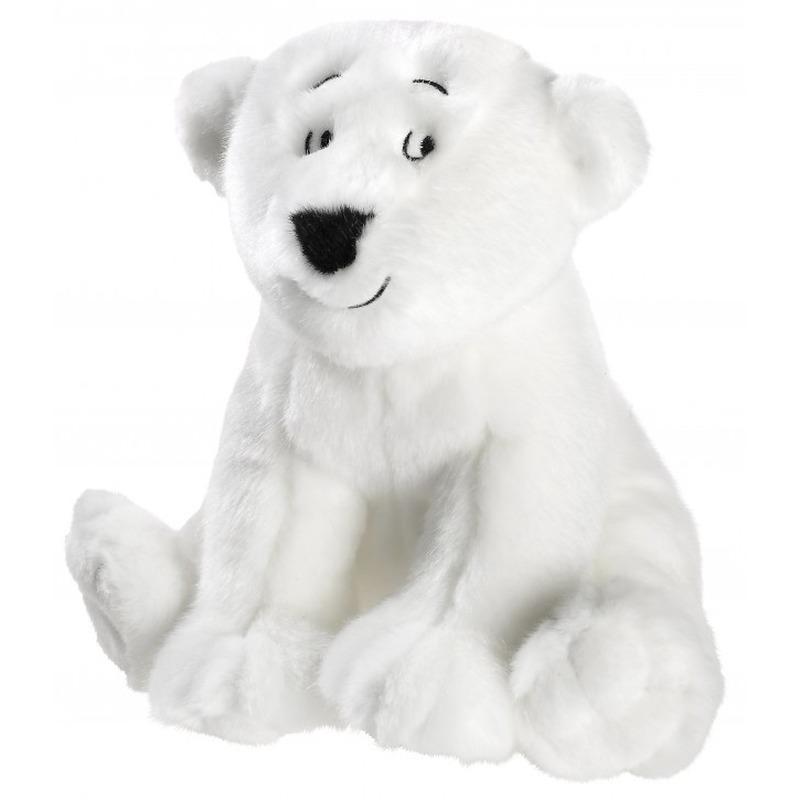 Knuffel ijsbeer Lars wit 25 cm knuffels kopen