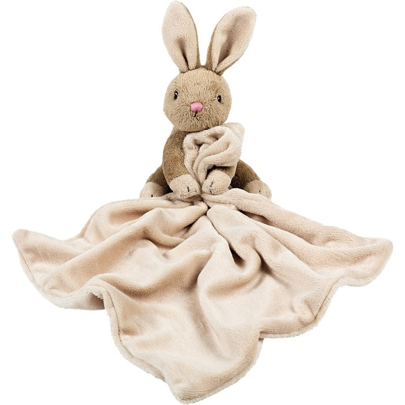 Knuffel konijn-haas bruin 30 cm kraamcadeau-kraamkado knuffels kopen