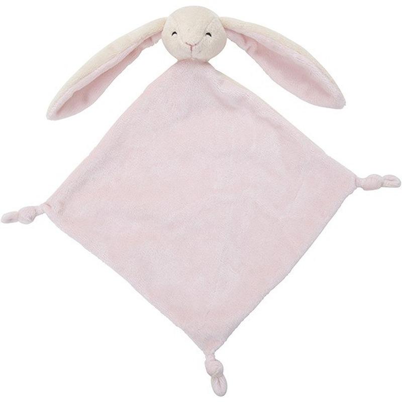 Knuffel konijn-haas roze 40 cm kraamcadeau-kraamkado knuffels kopen
