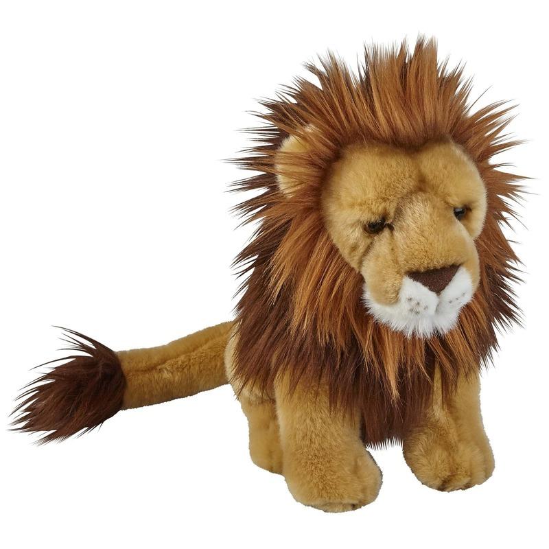 Knuffel leeuw bruin 28 cm knuffels kopen