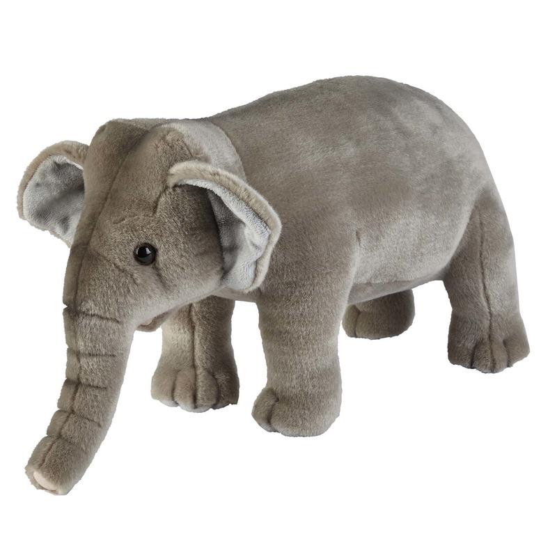 Knuffel olifant grijs 28 cm knuffels kopen