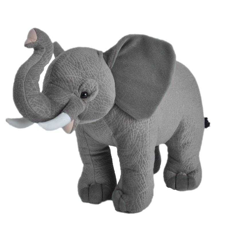 Knuffel olifant grijs 35 cm knuffels kopen