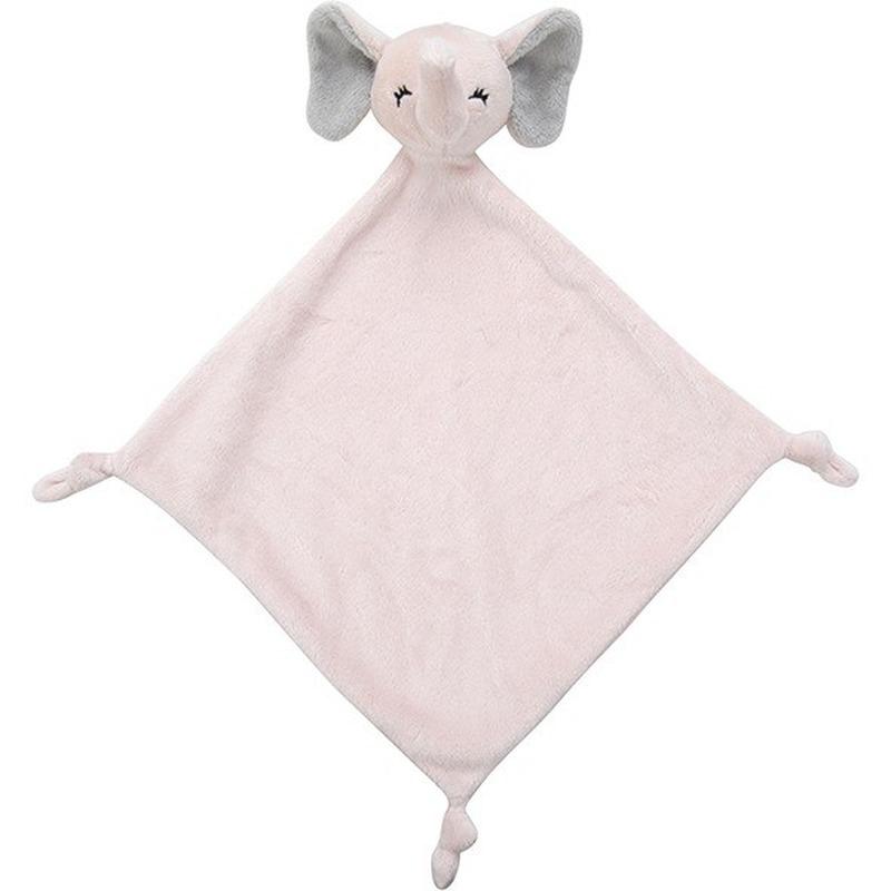 Knuffel olifant roze 40 cm kraamcadeau-kraamkado knuffels kopen
