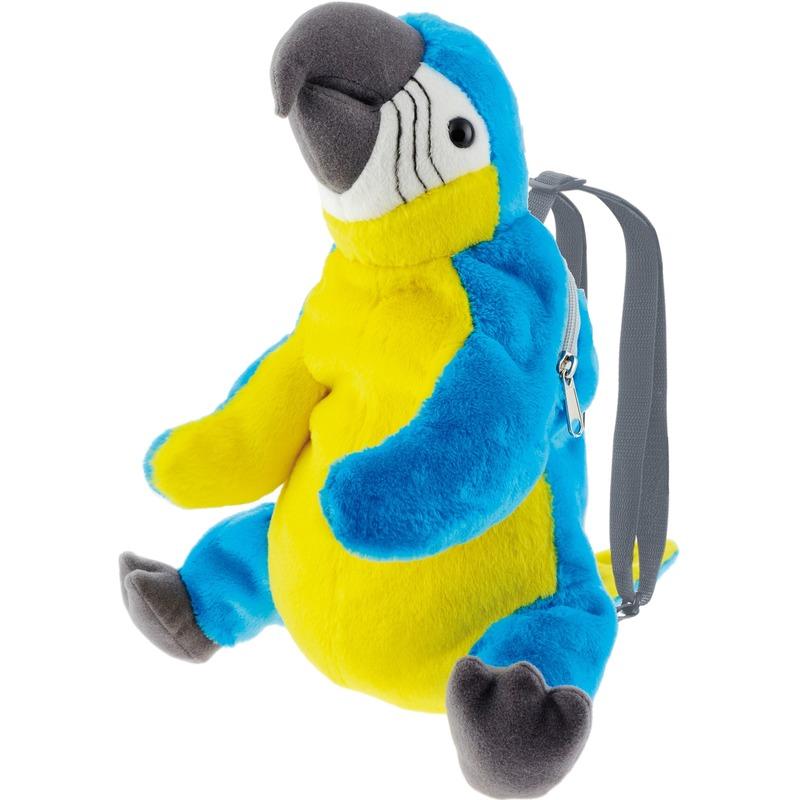 Knuffel rugzakje-rugtasje ara papegaai vogels 32 cm knuffels kopen