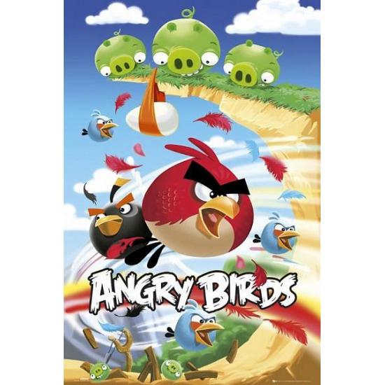 Afbeelding van Muur decoratie Angry Birds