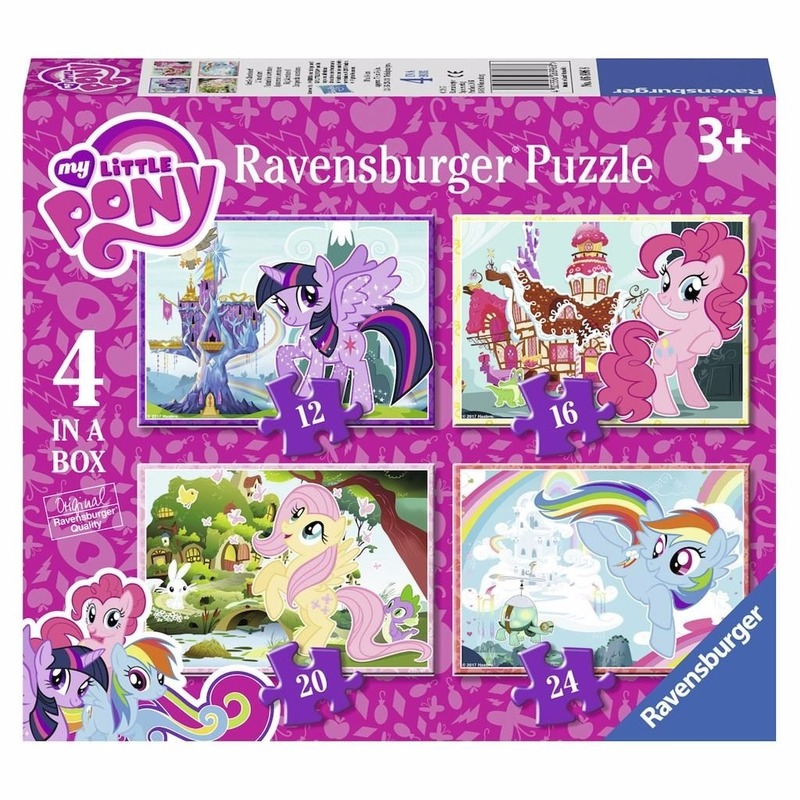 My Little Pony puzzeltjes 4 in 1