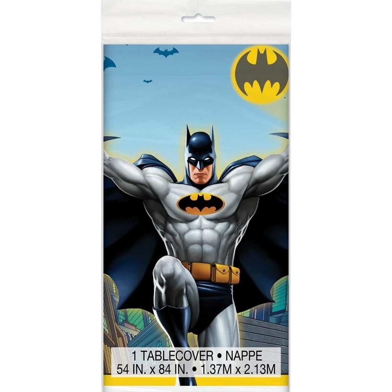 Afbeelding van Plastic tafelkleed Batman 137 x 213 cm