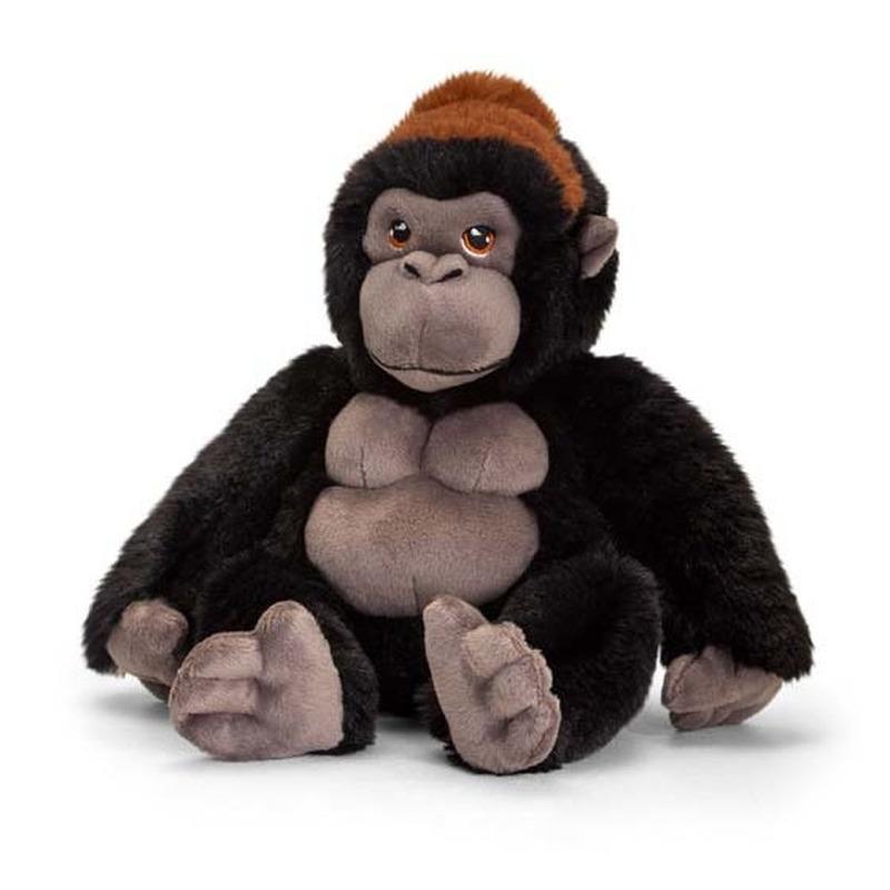 Pluche gorilla aap knuffel van 20 cm