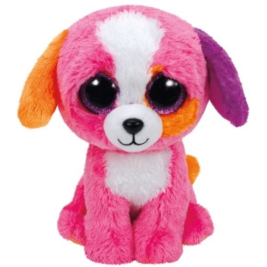 Pluche Hond-puppy knuffels Precious Ty Beanie 24 cm