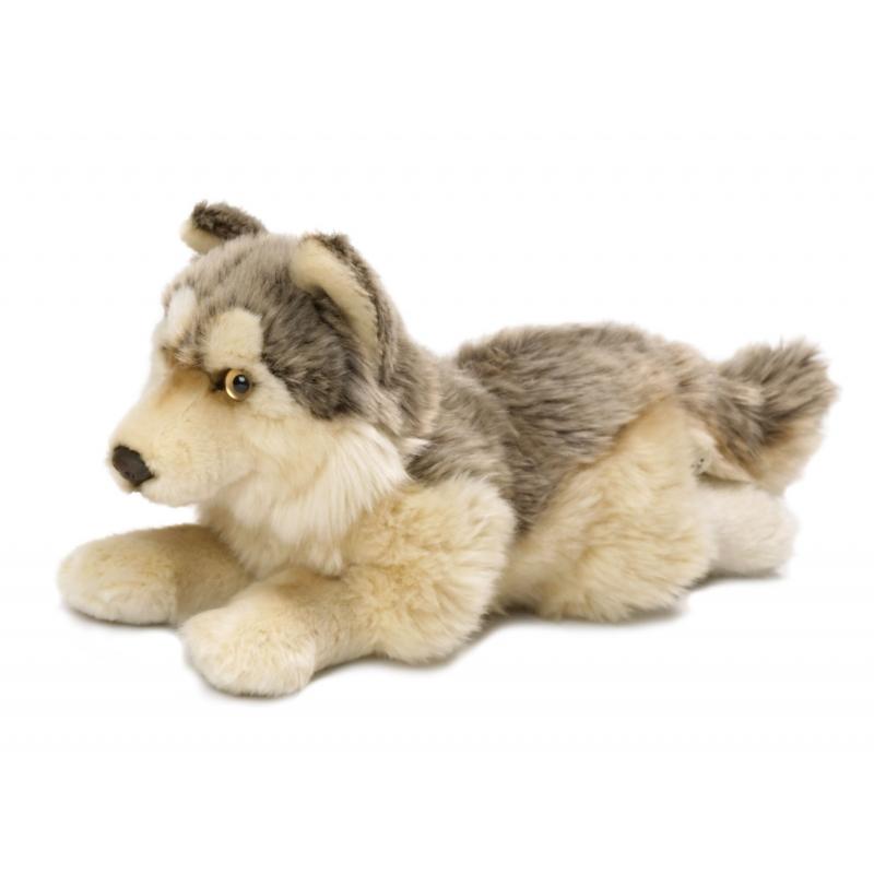 Pluche knuffel wolfje 25 cm