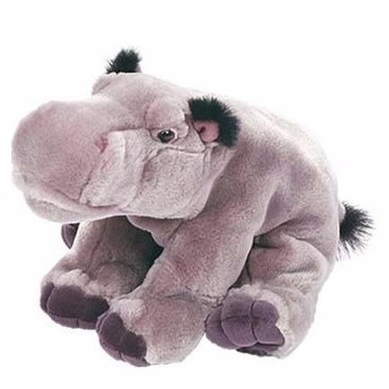 Pluche nijlpaarden knuffel