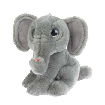 Pluche olifant knuffels 18 cm