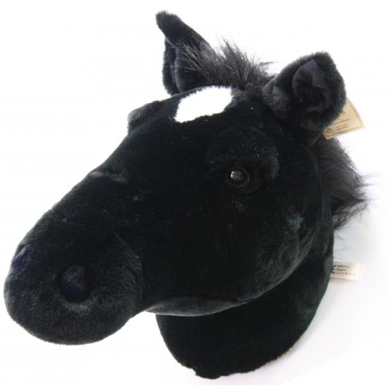 Afbeelding van Pluche paardenhoofden