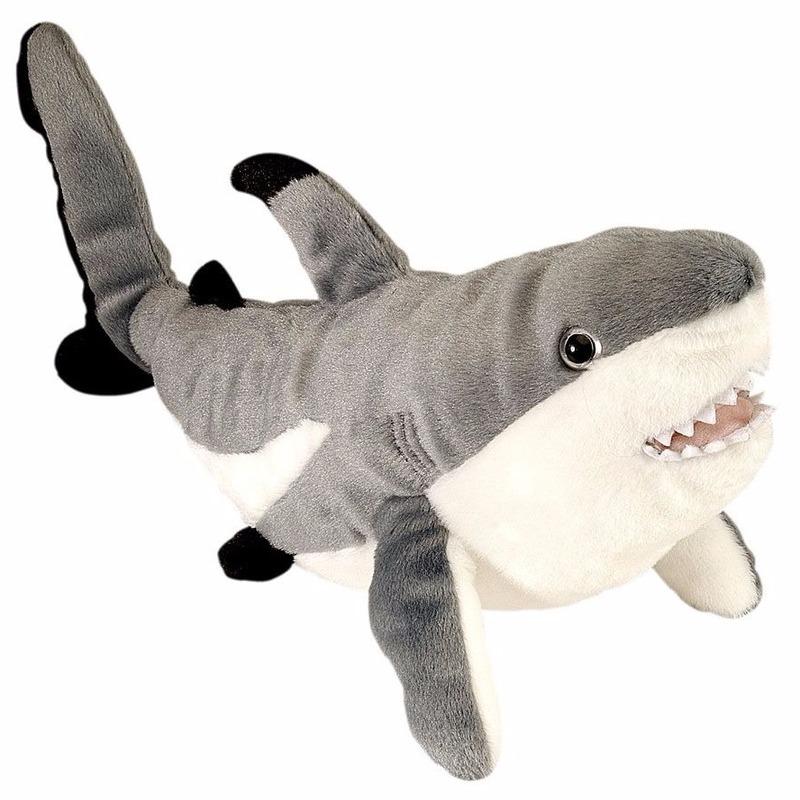 Pluche rif haai 30 cm