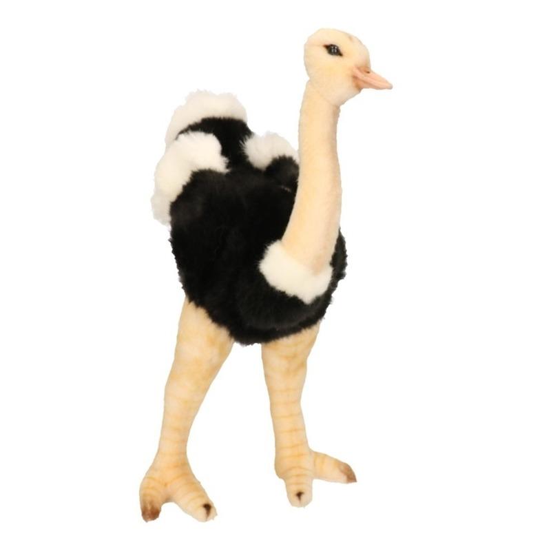 Pluche struisvogel knuffel 32 cm