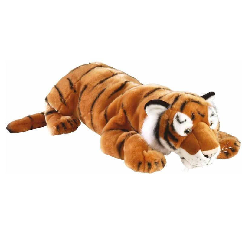 Pluche tijger knuffels 76 cm