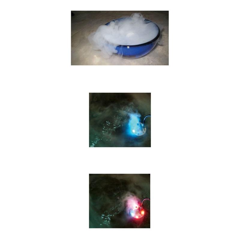 Rookmachine met 3 kleuren LED