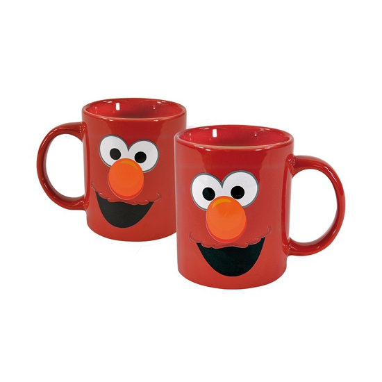 Afbeelding van Sesamstraat Elmo drinkbeker