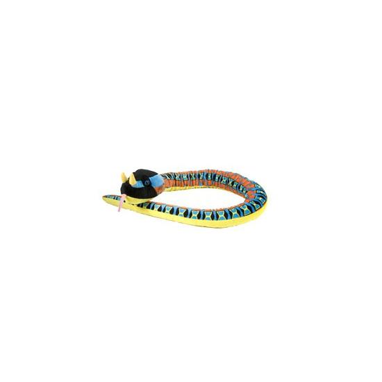 Slangen knuffeldier neushoornadder