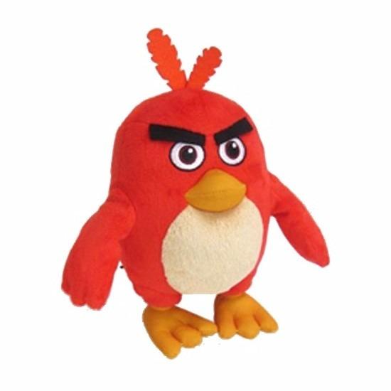 Afbeelding van Speelgoed Angry Birds knuffels rood 20 cm