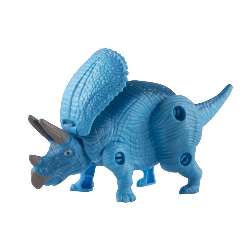 Afbeelding van Speelgoed dinosaurier Triceratops voor kinderen 12 cm