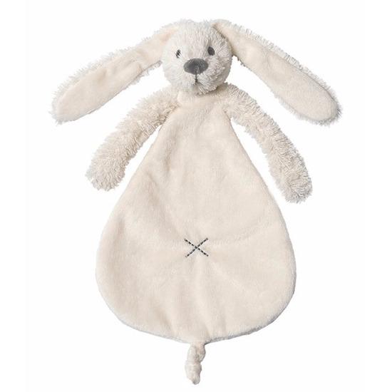 Speelgoed ivoren konijnen knuffeldoekje Richie 25 cm