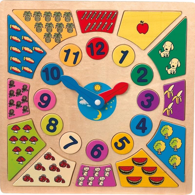 Afbeelding van Speelgoed klok