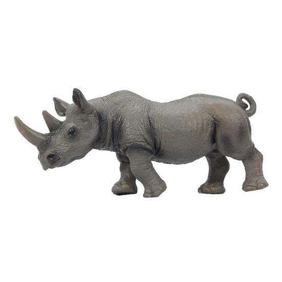 Speelgoed neushoorn diertje 14 cm